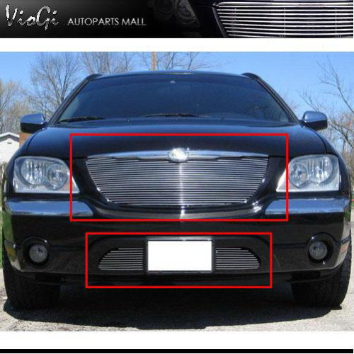 Purchase 04-06 Chrysler Pacifica Combo Billet Grille 2004