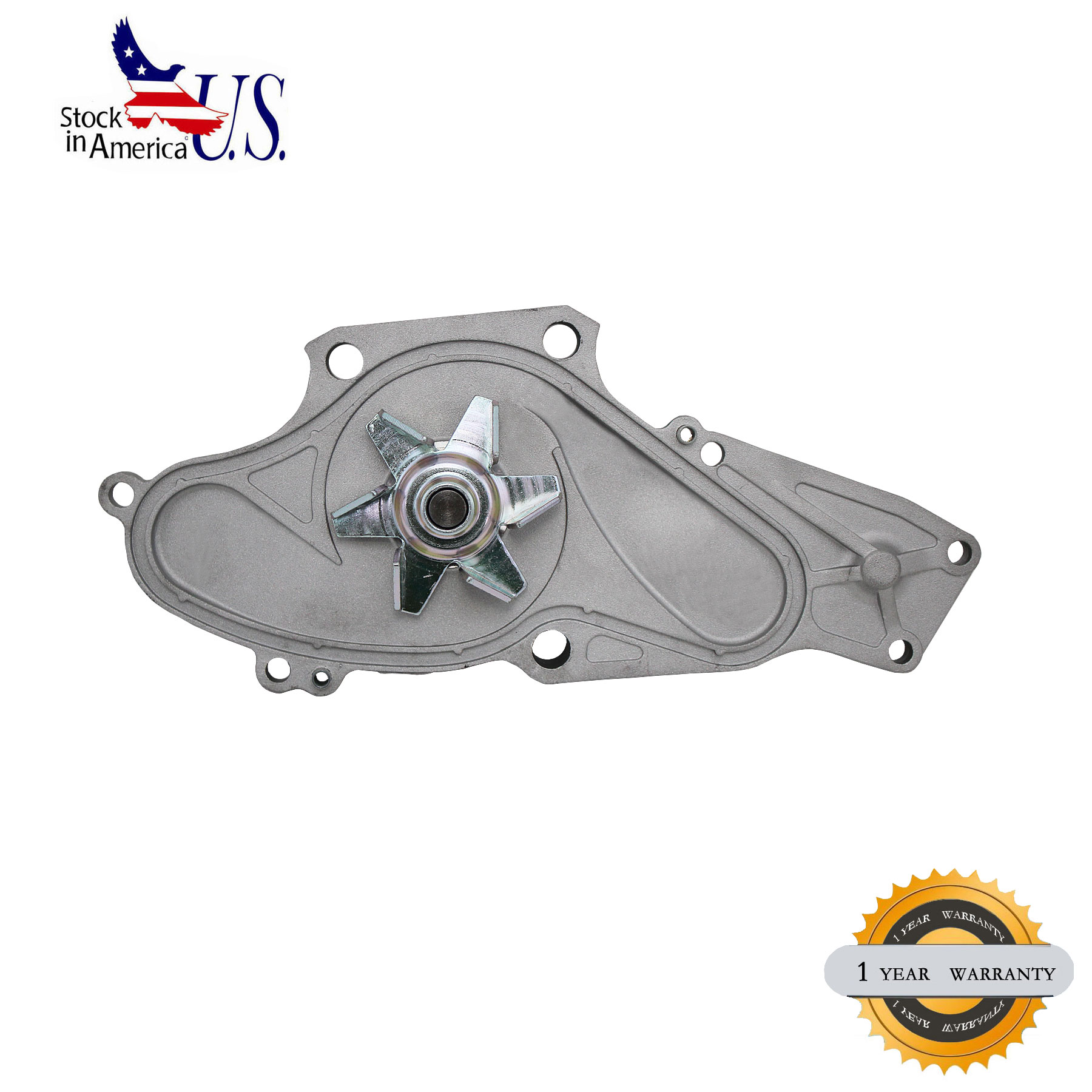 Water Pump W/ Gasket Fit For Acura CL TL MDX Honda Odyssey