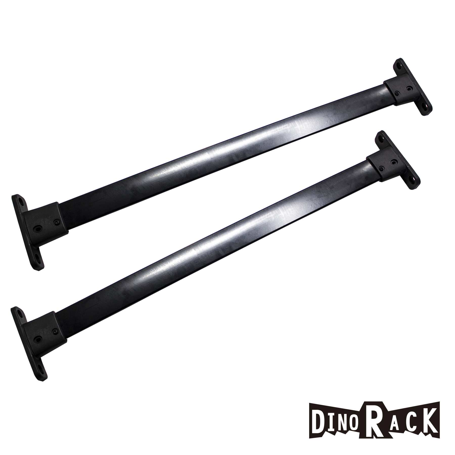 Fit 05 12 Pathfinder Blk Aluminum Roof Rack Cross Bar