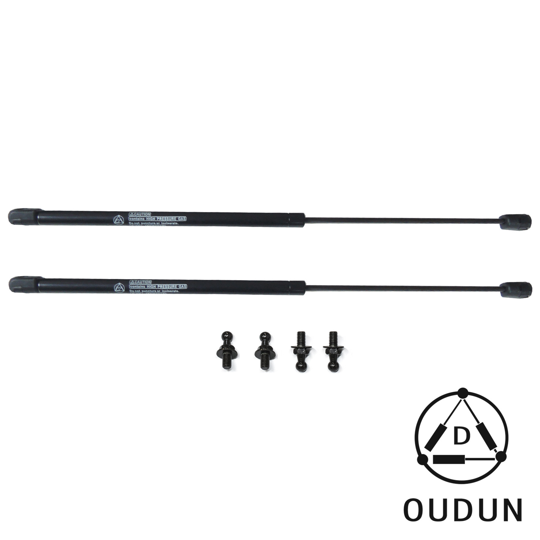 2pcs rear window glass gas lift supports fit 07