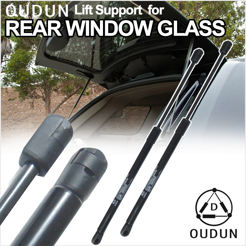 2 Rear Window Glass Gas Charged Lift Support For 00-06 Chevrolet Suburban