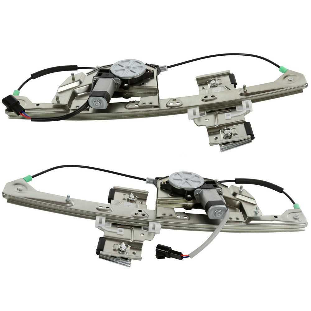 Power Window Regulator with Motor for 2000-05 Cadillac Deville Rear Left