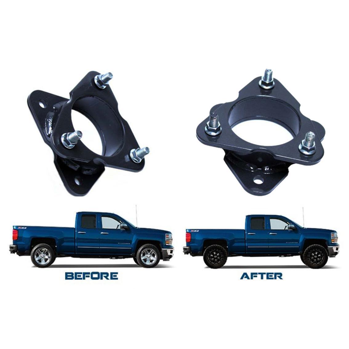 "Chevrolet GMC Silverado Sierra 2/"" Lift Leveling Aluminium Coil Spacer"