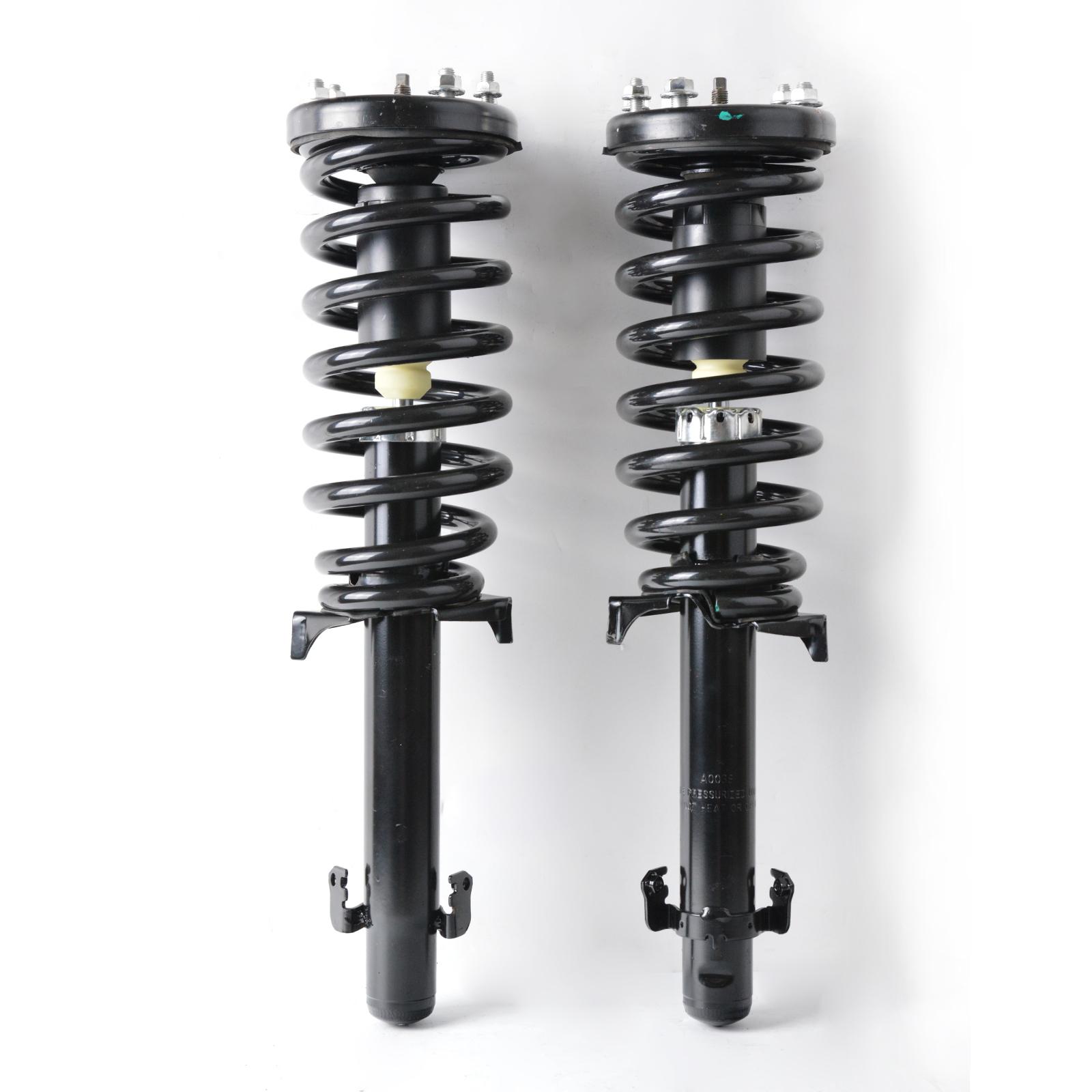 For 08-12 Honda Accord Quick-Strut Complete Shocks//Struts Springs Suspension ×4