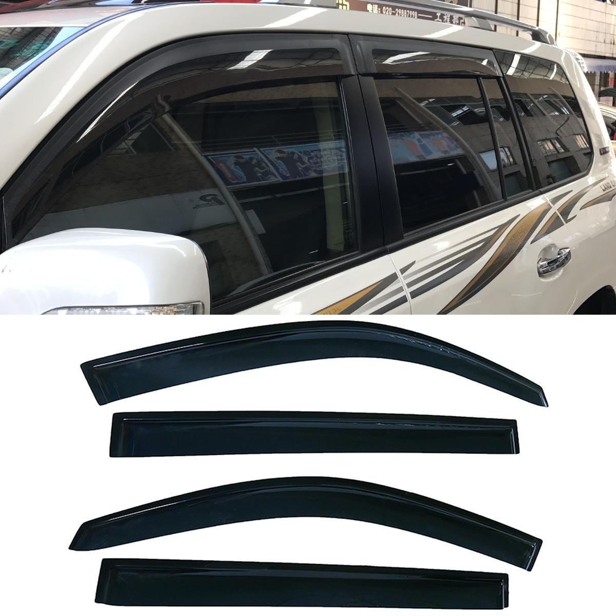 Car & Truck Parts fit 2008-2013 Highlander Window Visor Sun Shade Vent Rain Guard Wind Deflector Car & Truck Sunroofs, Hard Tops & Soft Tops