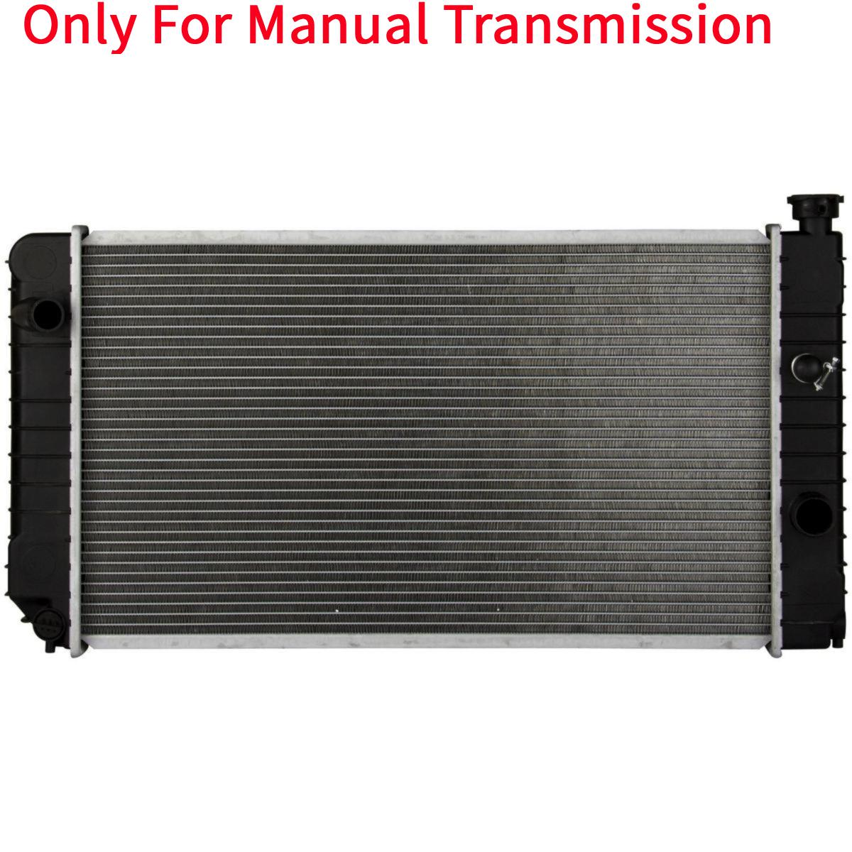 1826 RADIATOR FOR GMC CHEVY FITS BLAZER S10 JIMMY SONOMA HOMBRE BRAVADA 4.3 V6