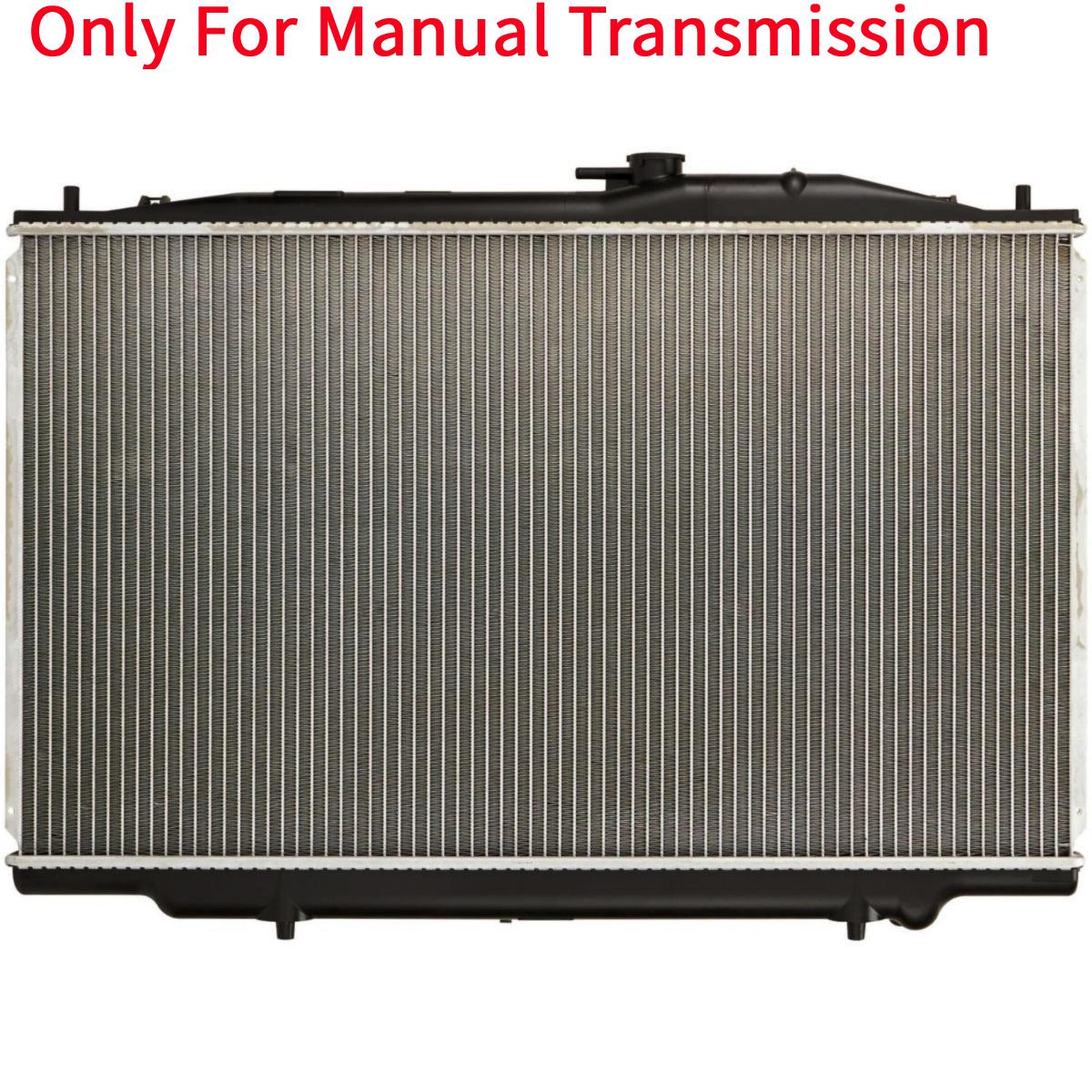 Manual MT Aluminum/Plastic Radiator 1 Row For 2004-2006
